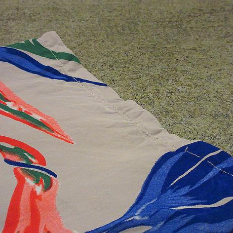 ビンテージ40's50's●レーヨン花柄ループカラーハワイアンシャツ●210607f4-m-sssh-hwアロハシャツ半袖シャツ開襟シャツ