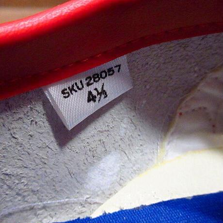 ビンテージ80's●DEADSTOCK 箱付き CONVERSE CASUAL LEATHER Size 4 1/2●201219n8-w-snk-235cm NOSコンバースレザースニーカー