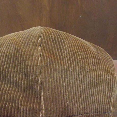 ビンテージ~40's●DEADSTOCK FINE TRADE耳当て付きコーデュロイキャスケット●210211n5-m-cp-cas古着デッドストック帽子ワーク