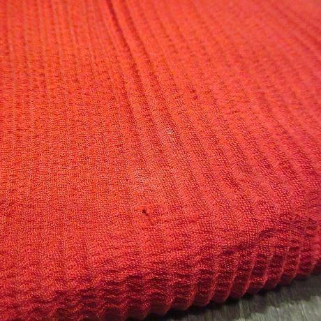 ビンテージ~50's●ウッドフレームプリーツハンドバッグ赤●210322n2-bag-hnd 40s1940s1950sレディース鞄木製
