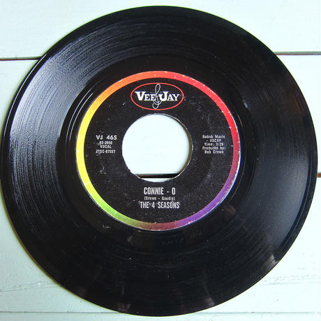 THE 4 SEASONS●BIG GIRL DON'T CRY/CONNIE-O VEE JAY VJ 465●210316t1-rcd-7-fnレコード米盤US盤45ソウルR&B 7インチ
