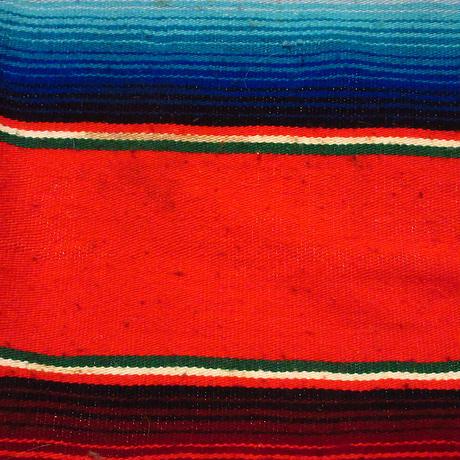ビンテージ70's●メキシカンラグ 216cm×147cm●210604s8-rug インテリアマット雑貨エスニックブランケット