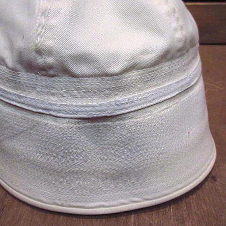 ビンテージ80's●U.S.NAVYセーラーハットsize 7●210115n5-m-ht-otミリタリー米軍実物USNアメリカ海軍帽子コットンメンズUSA