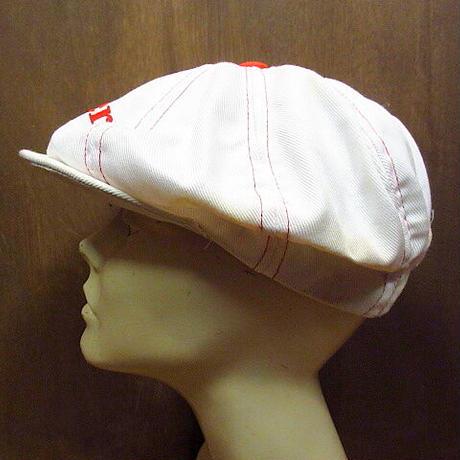 ビンテージ70's●Budweiser コットン8パネルキャスケット白●210306n1-m-cp-cas バドワイザー帽子キャップ古着