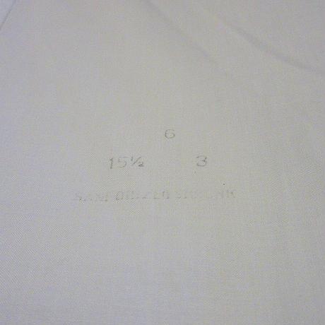 ビンテージ40's50's●コットンドレスシャツ白size 15 1/2-3●210501s4-m-lssh-drs 1940s1950s古着長袖シャツメンズトップスワイシャツ