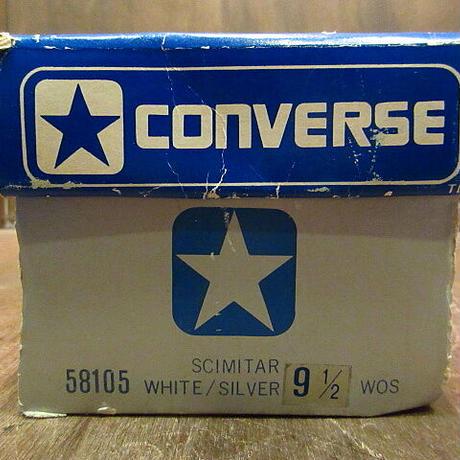 ビンテージ80's●DEADSTOCK CONVERSEレディースSCIMITAR 9 1/2●201221n6-w-snk-255cm 1980sデッドストックコンバーススニーカー