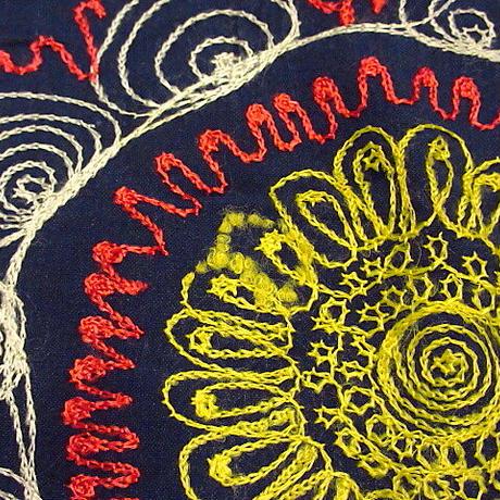 ビンテージ●コットン刺繍テーブルクロス 168cm×129cm●201029s6-fbr ファブリック布地インテリア雑貨