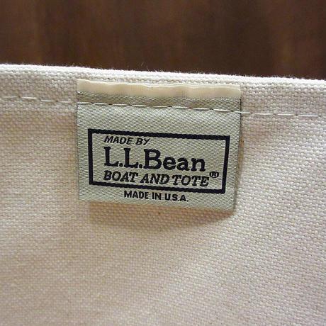 L.L.Bean レザーハンドルキャンバストートバッグ M●210602n6-bag-tt エルエルビーンアウトドアカバン米国製