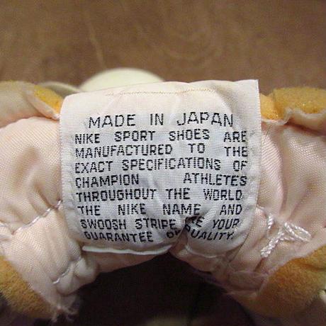 ビンテージ70's●NIKE筆記体タグラケット7 1/2●200805n5-w-snk-24cm 1970sナイキレディーススニーカー日本製