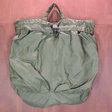 ビンテージ80's●ミリタリーヘルメットバッグ●210109n5-bag-hnd 米軍実物ハンドバッグナイロンカバン