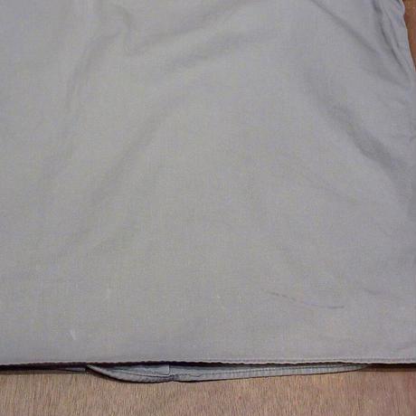 ビンテージ50's●Powr House コットン半袖ワークシャツ グレー●210609n3-m-sssh-wk MONTGOMERY WARDボックス古着