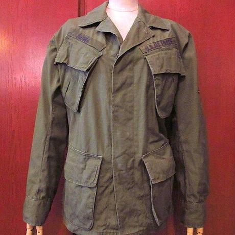 ビンテージ60's●USAFジャングルファティーグジャケット4th size XS-R●200905s1-m-jk-mlt古着ミリタリー米軍アウターUSAリップストップ