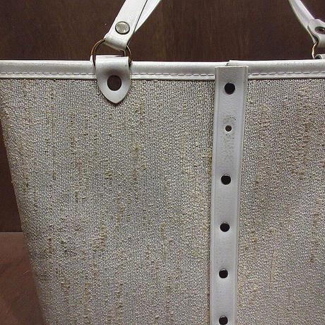 ビンテージ70's●フラワーパターンジュエリーハンドバッグ●210408n1-bag-hndかばんレディースレトロ花柄エニッドコリンズEnid Collins