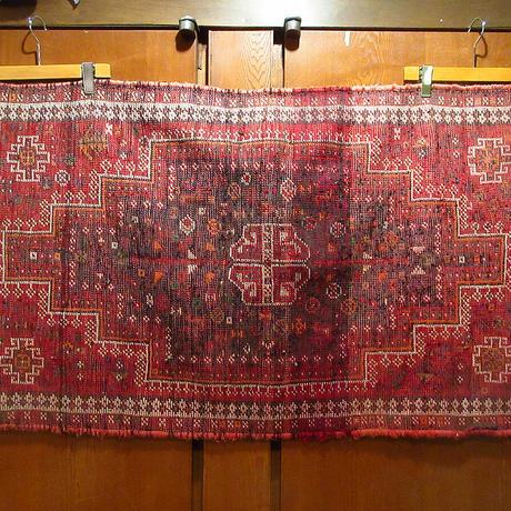 ビンテージ●キリムラグ 72cm×121cm●210611s7-rug 絨毯マットインテリアディスプレイ民族雑貨