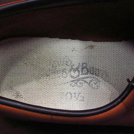 ビンテージ70's●Levi'sクレープソールレザーローファー茶size 10 1/2 M●210610n4-m-lf-28cmメンズシューズリーバイスUSA