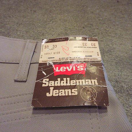 ビンテージ70's●DEADSTOCK Levi's 517 W33 L33●210504s7-m-pnt-ot-W33 1970sデッドストックリーバイスブーツカットパンツ古着