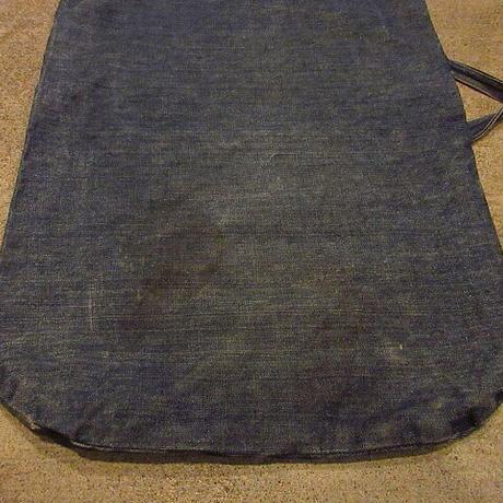 ビンテージ●ハンドメイドデニムランドリーバッグ●201113f1-bag-otかばんハンドバッグ古着USA