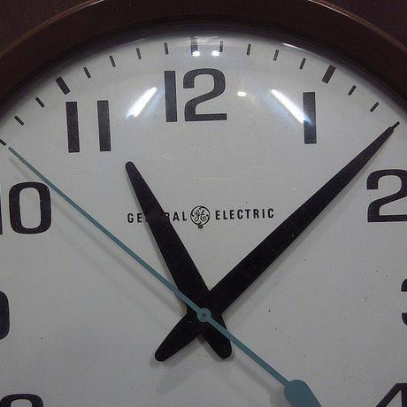 ビンテージ●GENERAL ELECTRIC MODEL 2012スクールクロック●210610n8-clk壁掛け時計ウォールクロックゼネラル・エレクトリック
