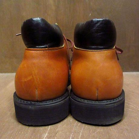 ビンテージ70's●箱付きDEADSTOCK MASON ワークブーツ茶 Size 10 1/2D●210609n5-m-bt-285cm チャッカレザーシューズ革靴