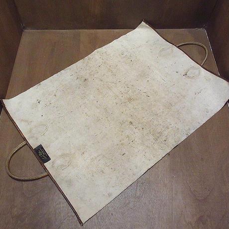 ビンテージ~70's●Casco Bayレザーハンドルログキャリー●210603n3-bag-otアウトドアキャンプ薪用トートバッグ