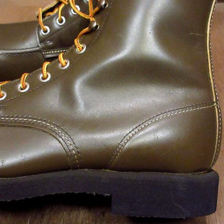 ビンテージ70's80's●DEADSTOCK Big Rapids レースアップワークブーツ Size 9E●210609n6-m-bt-27cm WOLVERINEウルヴァリン
