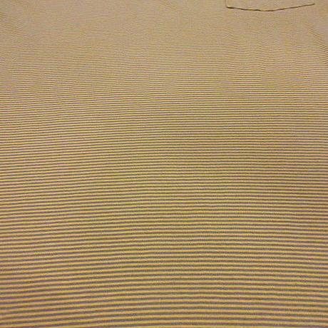Patagoniaポケット付きオーガニックコットンボーダーポロシャツsizeS●200627f4-m-plsh古着パタゴニアアウトドア半袖シャツUSA製