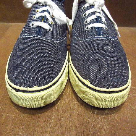 ビンテージ70's●DEADSTOCK Kratonレディースデニムスニーカーsize 5●210507n3-w-snk-23cmデッドストックUSA製古靴女性用