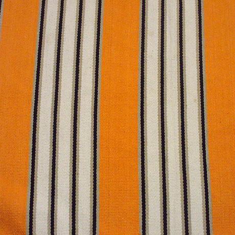 ビンテージ●コットンストライプラグ 168cm×122cm●210611s8-rug インテリアディスプレイ絨毯民族ネイティブ