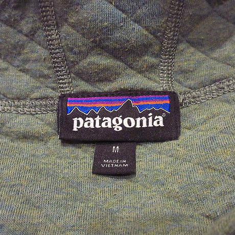 Patagoniaキルティングスウェットジップアップパーカsize M●210501s5-m-swpパタゴニアアウトドアフーディージャケットパーカー上着