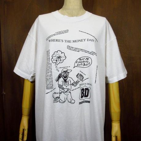 ビンテージ90's●Punk Fest '93 フェスTシャツ XL●210602n1-m-tsh-bn 音楽ミュージックパンクハードコア古着