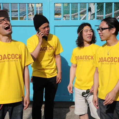 "DOACOCK × DOARAT ""DOACOCK 15th Tee"" YELLOW×BROWN"