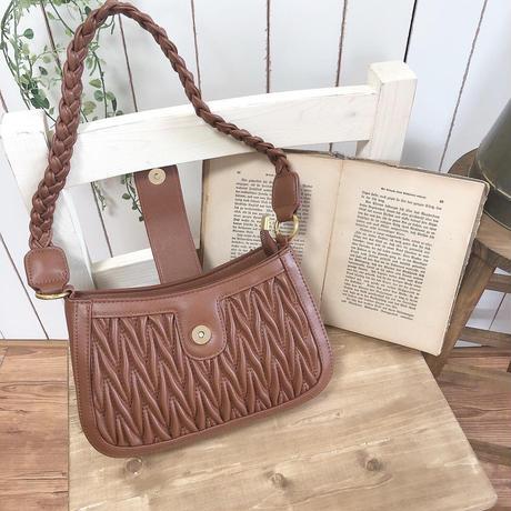 【OUTLET】2 way wood shoulder bag