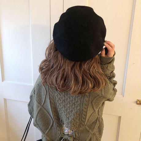 felt fuwa beret