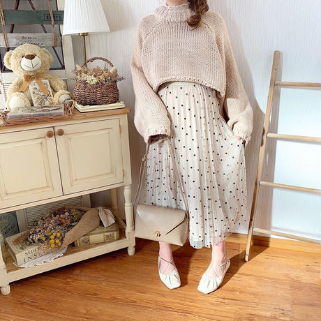 back lace up knit