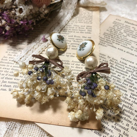 antique m bouquet pierce