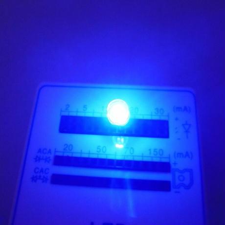 Φ5 先端FLAT LED 4種類 (合計40本)セット(赤/白/緑/青)  ( ZHW-644 )