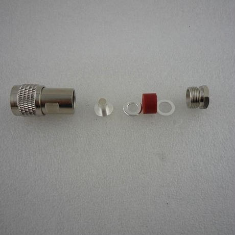 50Ω整合型 MPコネクタに同軸ケーブルを接続する方法