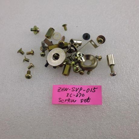 ICOM  IC-370 SCREW SET  ( ZHW-SVP-015 )