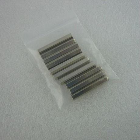 金属六角スペーサー M3×30  両側メス  10pcs/set