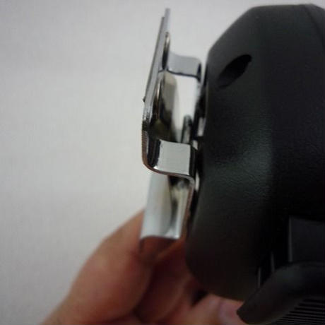 ハンドマイク用フック MIC背面丸型金具対応タイプ  ( ZHW-472 )