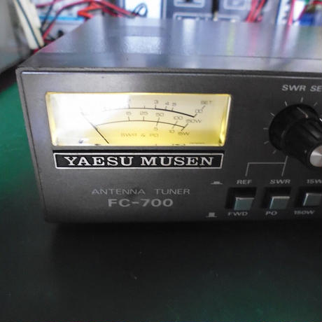 YAESU製アンテナチューナー FC-700 中古動作品 ( ZHW-ETC-329 )