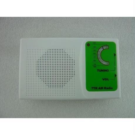 日本語詳細組立手順書付  7石トランジスタラジオキット( 7TR Transistor Radio Kit )