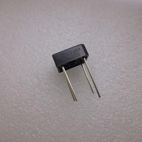 整流ブリッジダイオード  10A-1000V  KBPC  TYPE  ( ZHW-533 )