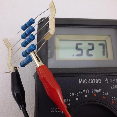 0.5Ω - 3W  金属被膜抵抗  5pcsセット( ALINCO製 DM-330MV修理用 ) ( ZHW-ETC-318 )