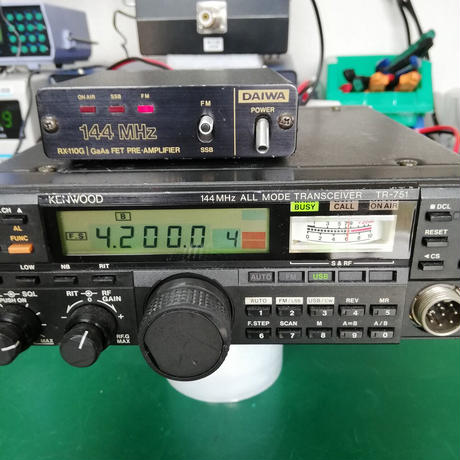 144MHz PRI AMP DAIWA RX-110G 中古動作品 ( ZHW-ETC-324 )