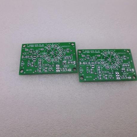 マイクアンプ  PCB ( 2SK30A / 6AK5 ) 2枚組
