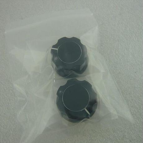 黒ツマミ Φ27 (中)  2pcs/set ( ZHW-005 )
