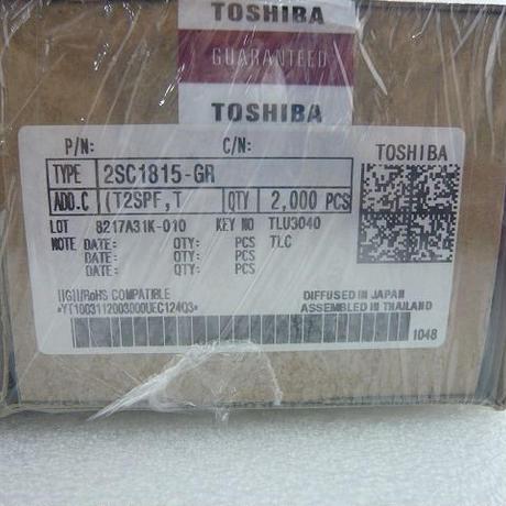 東芝製トランジスタ 2SC1815-GR  2000pcs/箱  (1箱単位販売)5箱限定 ( ZHW-431 )
