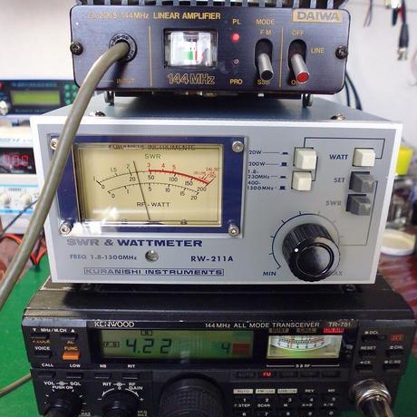 144MHz LINEAR AMP DAIWA LA-2065 中古動作品 ( ZHW-ETC-325 )
