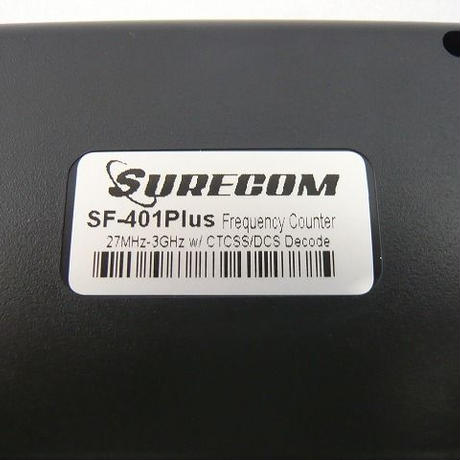 ポータブル周波数カウンター SF-401plus ( Hand-Held  Frequency Counter SF-401plus )